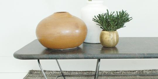 Table basse fabrication artisanale