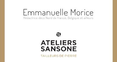 Emmanuelle Morice pour les Ateliers Sansone