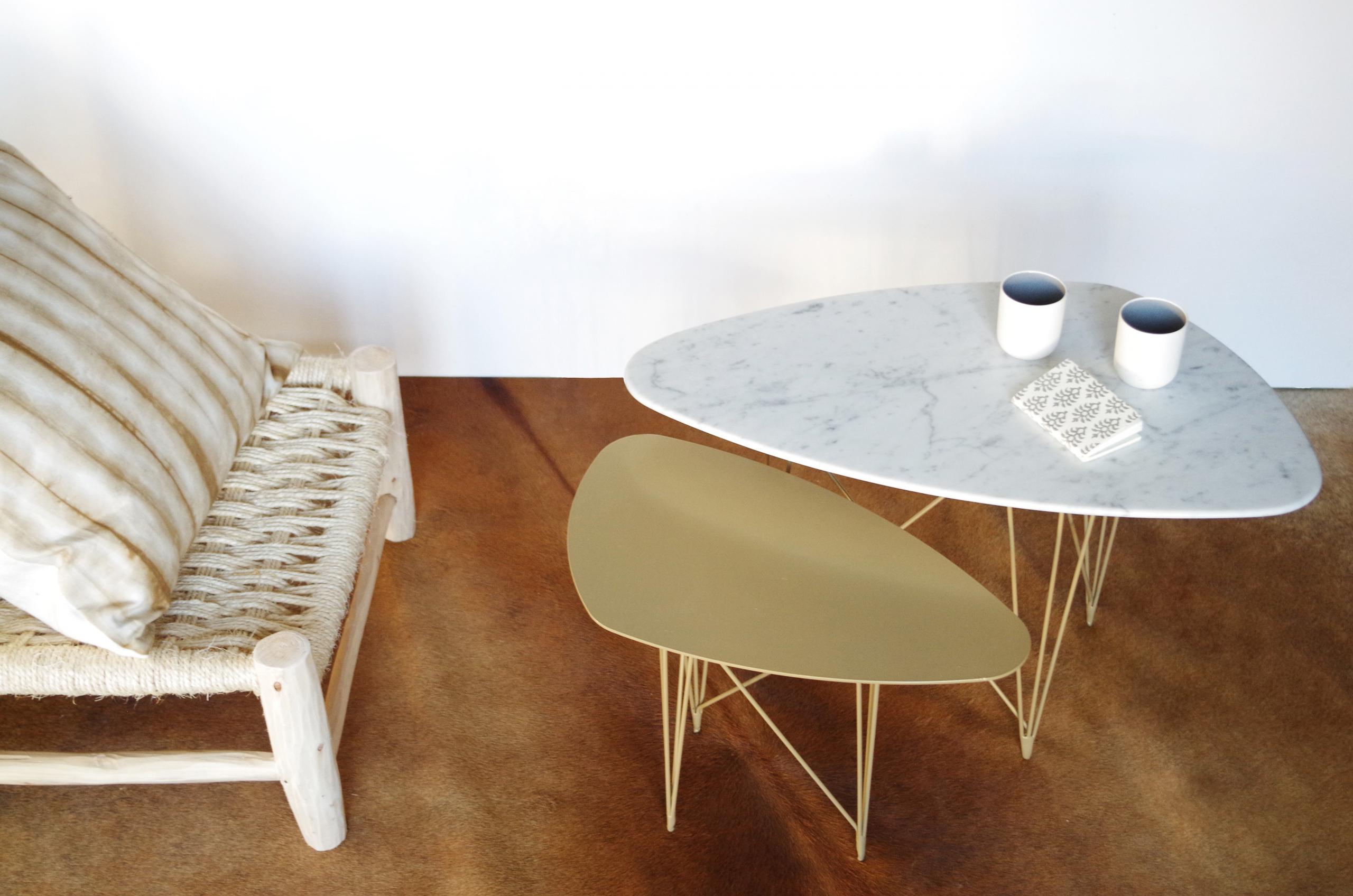 """""""Sunny Side Up"""", mobilier ESSONNA des Ateliers Sansone à Mouvaux"""